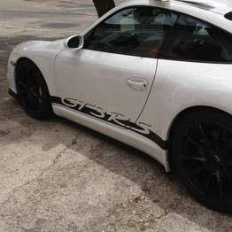 Rotulación Porsche GT3 RS